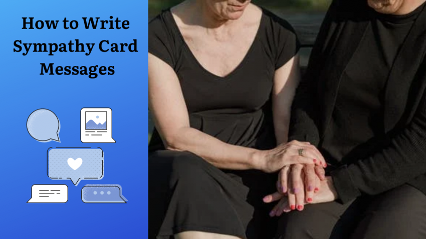 How to Write Sympathy Card Messages
