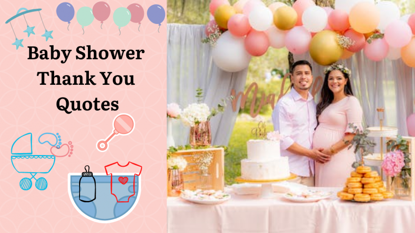 Baby Shower Thank You Quotes
