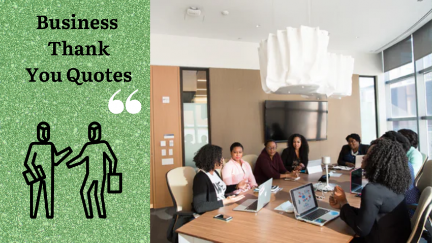 Business Thank You Quotes