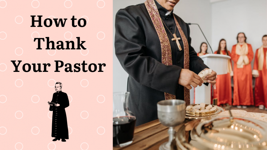 How to Thank Your Pastor