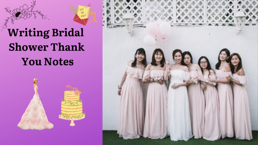 Writing Bridal Shower Thank You Notes