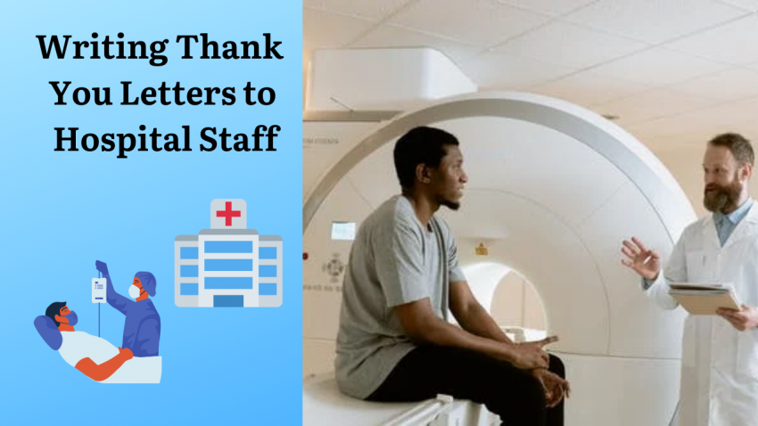 Writing Thank You Letters to Hospital Staff