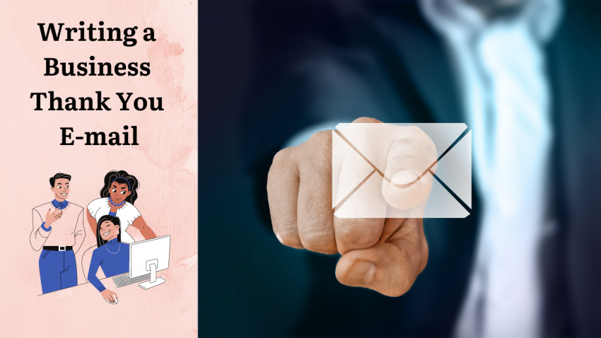 Writing a Business Thank You E-mail