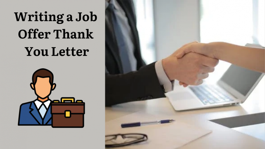 Writing a Job Offer Thank You Letter