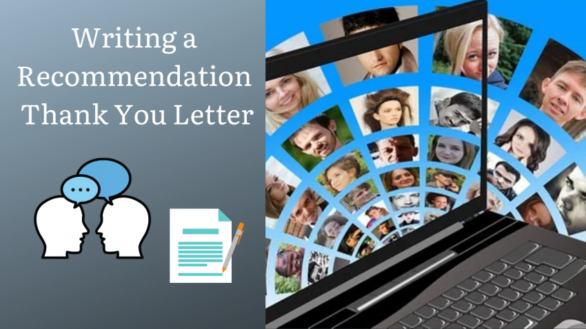 Writing a Recommendation Thank You Letter