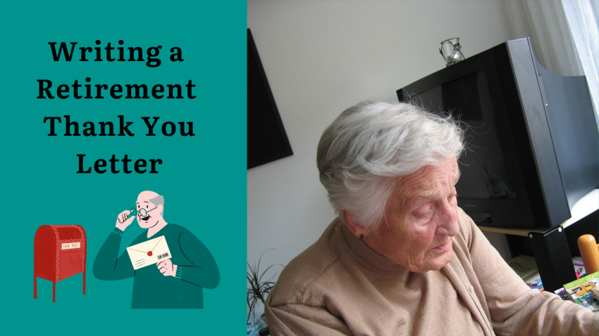 Writing a Retirement Thank You Letter