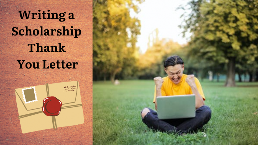 Writing a Scholarship Thank You Letter