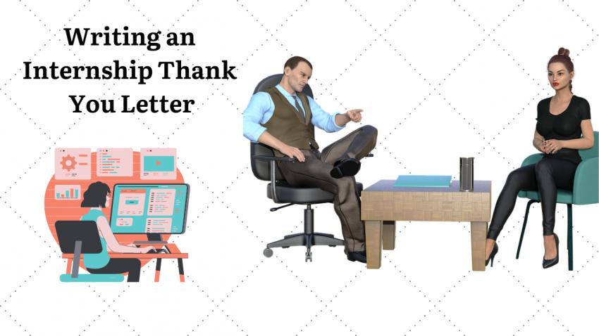 Writing an Internship Thank You Letter