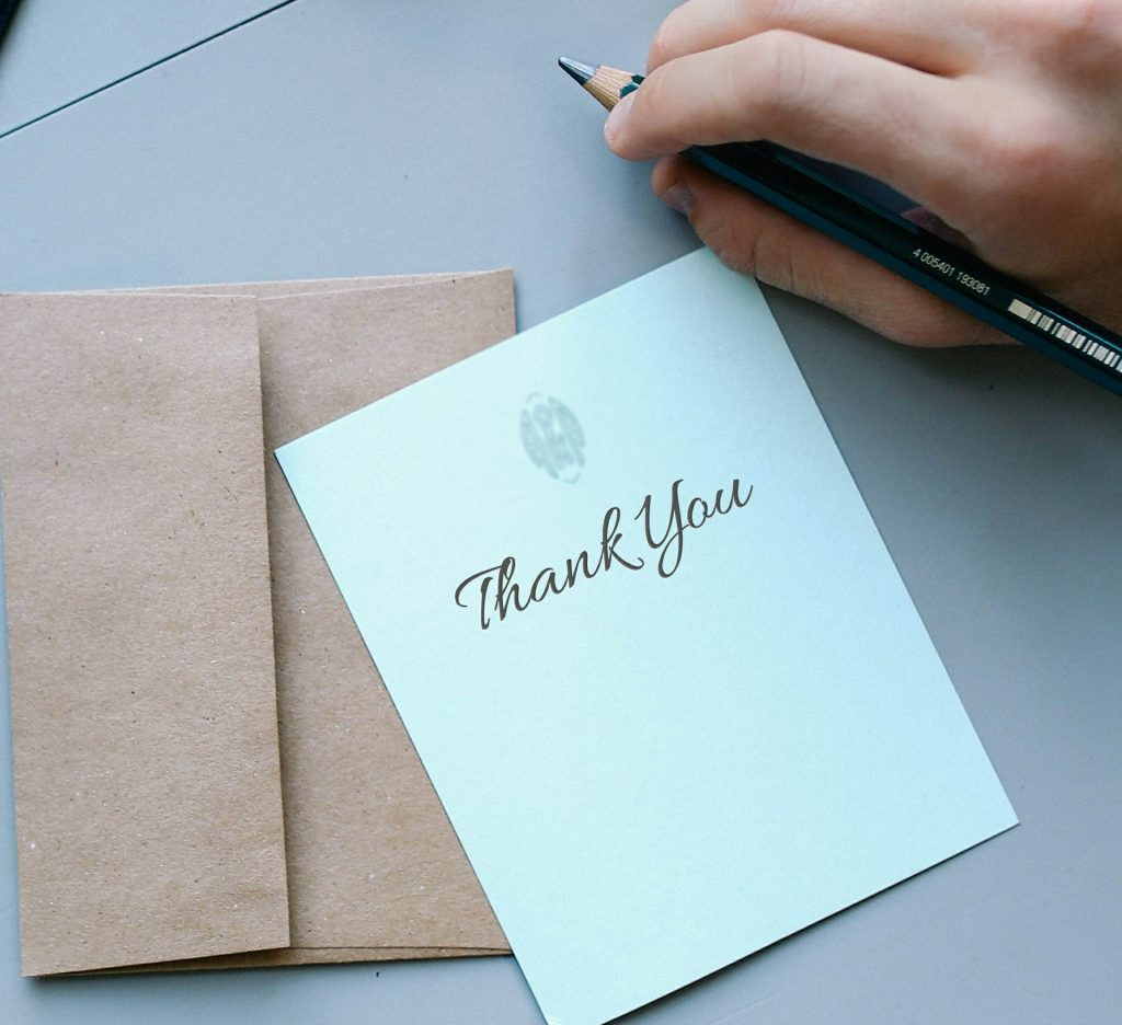 Thank You Notes For Kids  Creative Ideas
