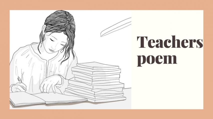 Teacher's poem